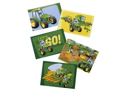 -JOHN DEERE Postkarten-Set Johnny & Frinds