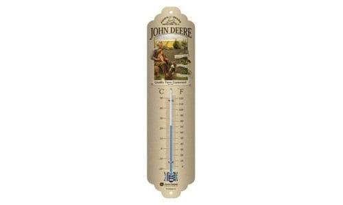-JOHN DEERE Thermometer Grandfather